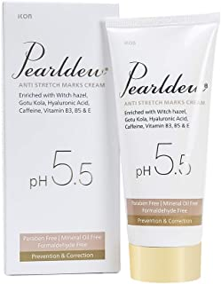 Pearldew Anti Stretch Marks Cream | Useful in Pregnancy to Reduce Stretch Marks & Scars, Stretch Mark Removal Cream, 100 ml