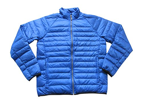 Timberland Bear Head Water Repellent Padded Bomber Jacket 5503J (Large, 454 Blue)