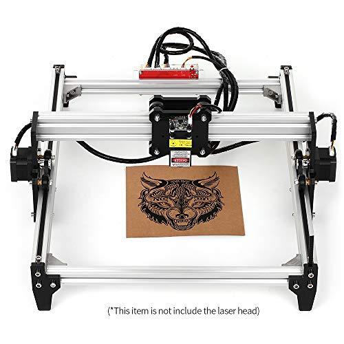 KKmoon Desktop DIY lasergraveermachine CNC Engraver Carver laserprinter met veiligheidsbril om te snijden en te graveren Werkgrootte: 395 mm x 285 mm (A3) No laser EU Plug