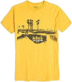 T-Shirt Estampada Infantil Masculino Amarelo Escuro