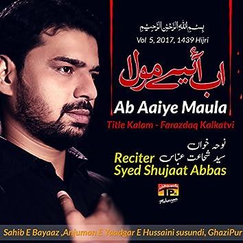 Ab Aaiye Maula, Vol. 5