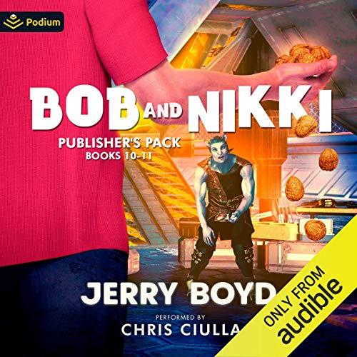 Bob and Nikki: Publisher's Pack 5 Audiobook By Jerry Boyd cover art