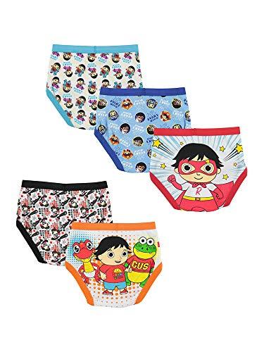 Ryan's World Boys' Big Underwear Multipacks, Ryan5pk, 8