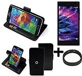 K-S-Trade TOP SET: 360° Cover Smartphone Case for Medion