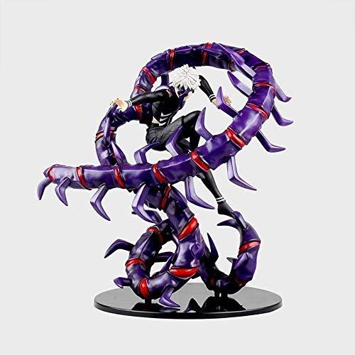 Mopoq Kaneki Ken PVC Animado Estatua Figuras del Adornos Completa de Lucha de Liberación Postura Ordenador de sobremesa Adornos de Juguete Modelo Crafts Conjuntos de Regalo los 28CM