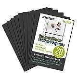 Sticky Shoot – Marcos de Fotos Magnéticos para Película de Cámara Instantánea Fujifilm y Polaroid – Imanes de Nevera de 2 x 3 cm– Marco Magnético para Cámaras Mini Instaz Zink y Snap