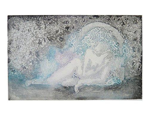 Dibujo Grabado Aguafuerte Afrodita La Noche