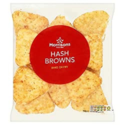 Morrisons Hash Browns, 750g (Frozen)