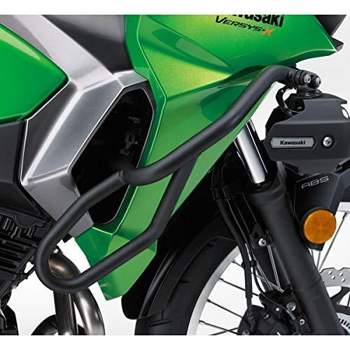 Genuine Kawasaki Accessories Engine Guard (Black) Compatible with 17-19 Kawasaki KLE300