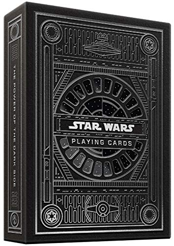 theory11 Star Wars Playing Cards Silver Edition - Dark Side (Grey)