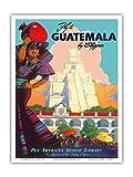 Guatemala Von Clipper - Pan American World Airways - Maya
