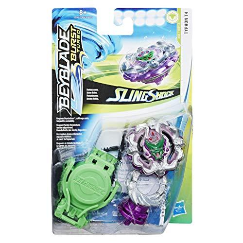 Hasbro Beyblade Burst Turbo SlingShock Starter Pack Typhon T4