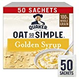Quaker Oat So Simple Golden Syrup Gachas de avena, 50 x 36 g...