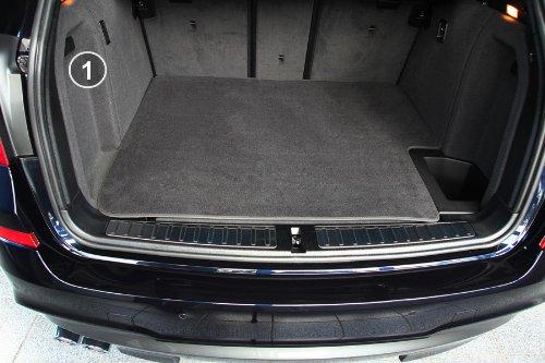 tuning-art 2903 Kofferraummatte 3-teilig, Rückbankschutz, Ladekantenschutz