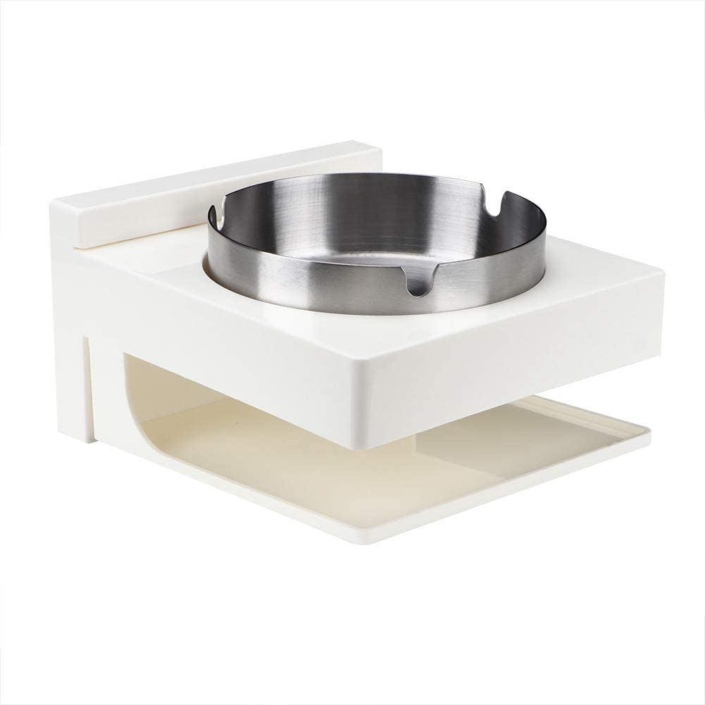 Japan Maker New Yyqtgg Multifunctional Ashtray Silver Removable High quality new Steel Stainless