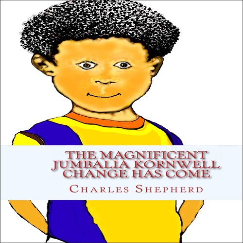 The Magnificent Jumbalia Kornwell audiobook cover art