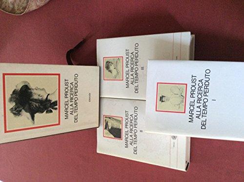 Alla ricerca del tempo perduto 3 volumi con cofanetto