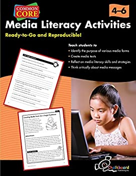 Paperback Media Literacy Activities Book Gr 4-6 Book