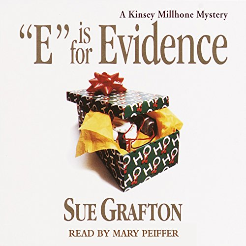 E is for Evidence audiobook cover art