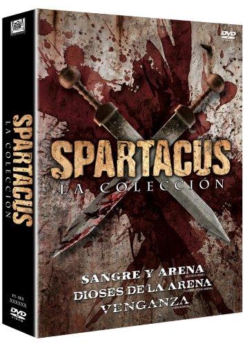Trilogía Spartacus: Dioses De La Arena + Sangre Y Arena +...