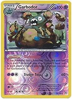 Pokemon - Garbodor (54) - BW - Dragons Exalted - Reverse Holo