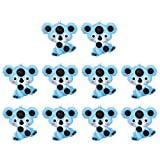 Milisten 10pcs Forehead Temperature Strips Baby Body Fever Check Stickers Temperature Measurement Stickers Fever Monitoring Strips for Kids Children (Koala)