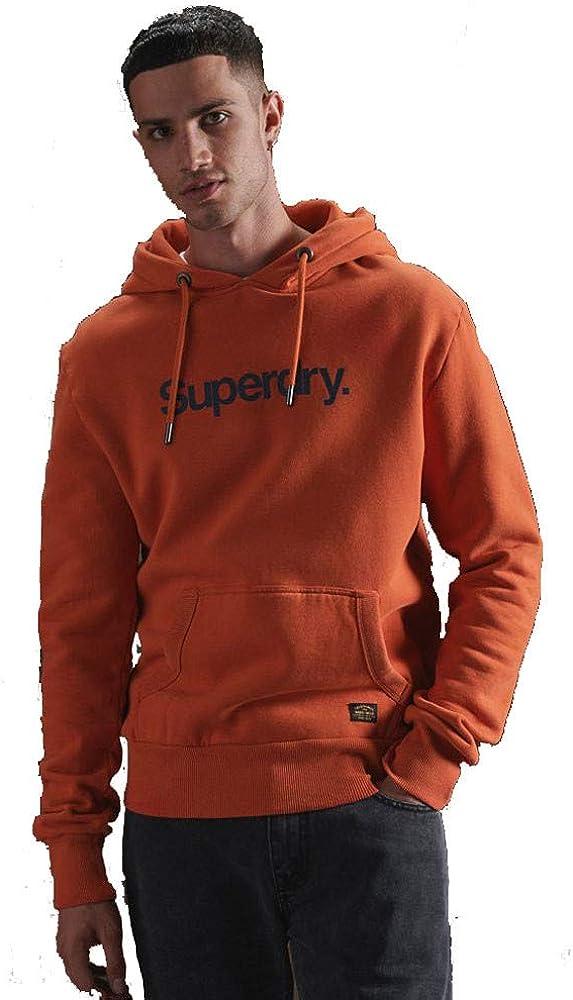 Superdry Core Logo Canvas Hoodie