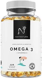 Omega 3+Vitamina E. Alta dosis de ácidos grasos Omega 3,