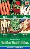 Winter Vegetables Seed Collections, 6 Vegetable Varieties