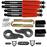 WULF 3' Front 3' Rear Lift Kit For 1997-2003 Ford F150 4WD (Shocks)