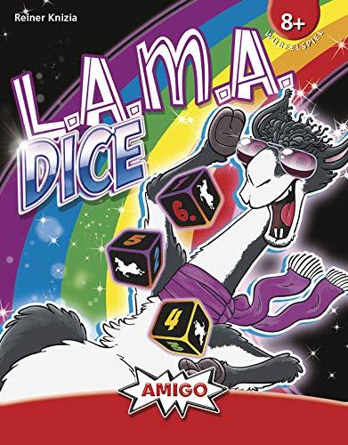 Amigo Spiel + Freizeit Juego Familiar Lama Dice 2103.