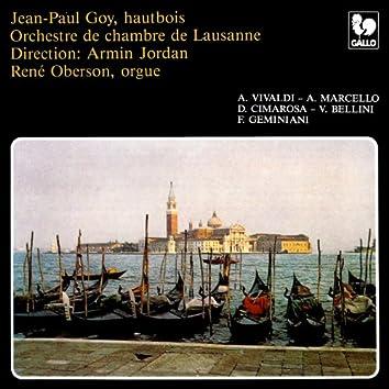 Vivaldi - Marcello - Cimarosa - Bellini: Four Concertos for Oboe & Orchestra – Geminani: Piece for Oboe & Organ