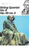 Beethoven String Quartet No. 8 in E minor, Op. 59 no. 2 sheet music score ('Beethoven string quartets') (English Edition)