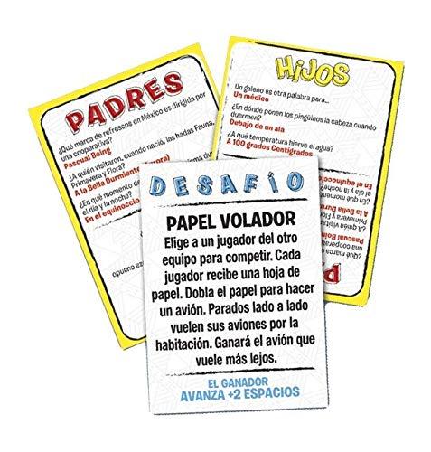 Juegos Bizak Hijos Contra Padres (BIZAK 61923451): Amazon.es ...