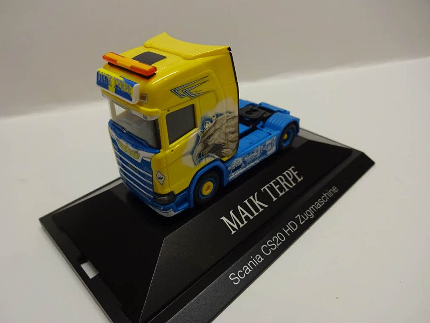 Herpa 110914  Scania Cs 20 Hd Rigid Tractor Maik Terpe Model Set