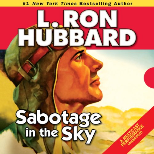 Sabotage in the Sky audiobook cover art