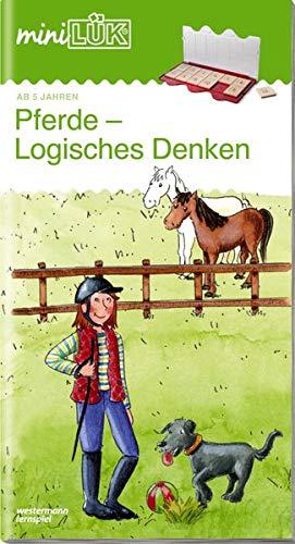 miniLÜK-Übungshefte: miniLÜK: Vorschule: Pferde - Logisches Denken