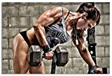 Bodybuilding Fitness Motivation Workout Posters for...