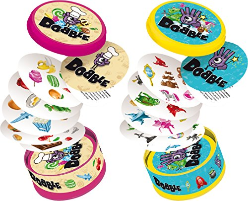 Asmodee- Dobble Junior, Multicolor, Norme (DOBJU01FR)