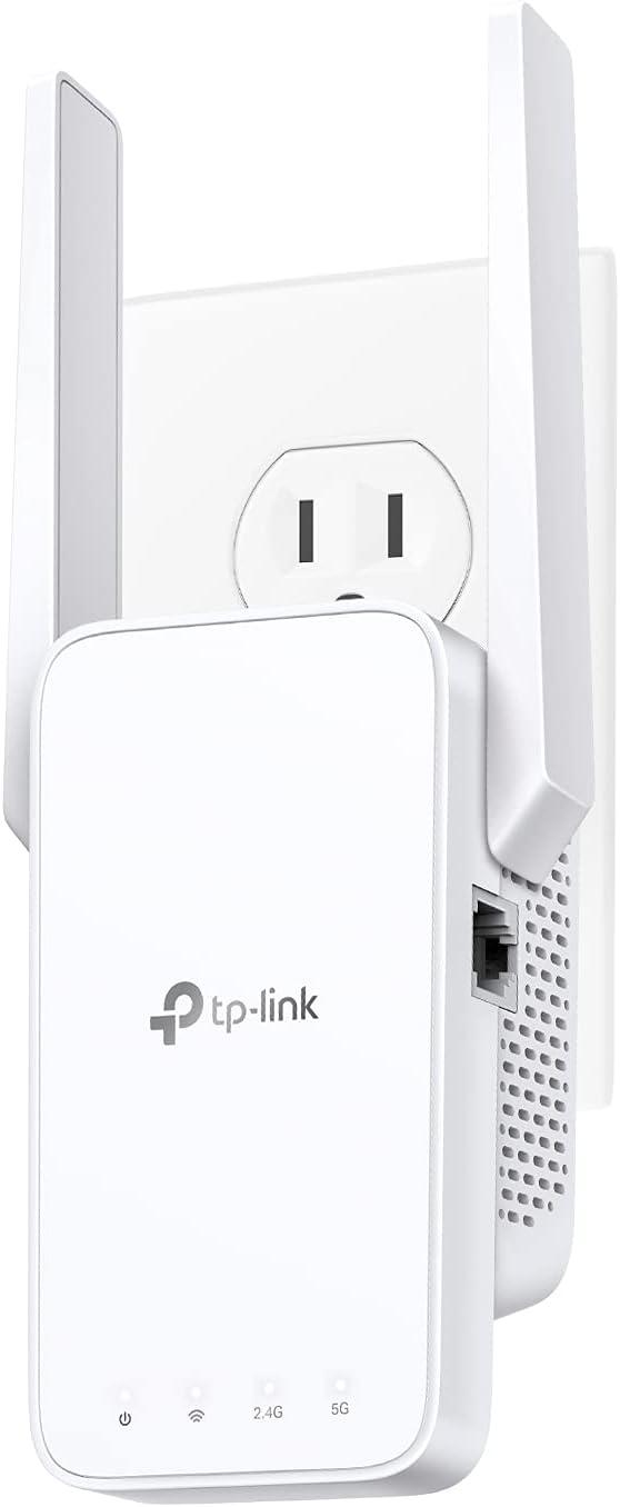 tplink re215 wifi range extender for fios