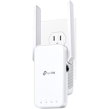 TP-Link AC750 WiFi Extender(RE215), Covers Up to 1500 Sq.ft and 20 Devices, Dual Band Wireless Repeater for Home, Internet Signal Booster with Ethernet Port