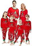 Matching Family Pajamas Christmas Tree Boys and Girls Pyjamas 2 Piece PJs for Kids Size 7