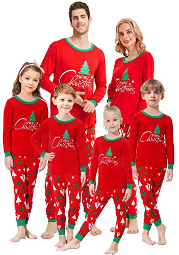 Matching Family Pajamas Christmas Tree Boys and Girls Pyjamas 2 Piece PJs Women S