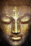 Buddha - Gold Poster (24' x 36' Unframed)