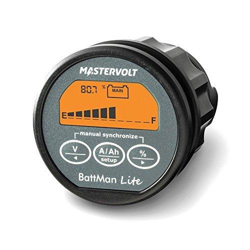 Mastervolt Battman Lite Batterieüberwachung Batteriewächter Ladezustandsanzeige Batteriecomputer 12V 24V inkl. 500A Shunt