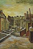 1art1 Vincent Van Gogh - Hinterhöfe In Antwerpen Im