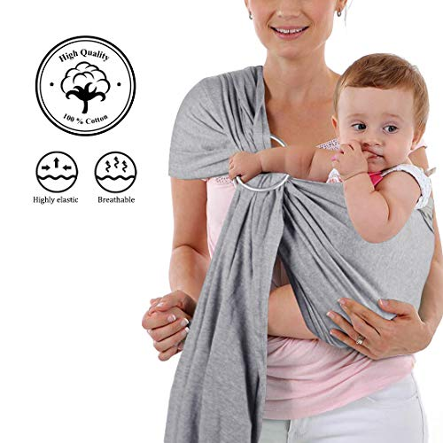 MOBY MSL JET RIBBONS Ring Sling mehrfarbig