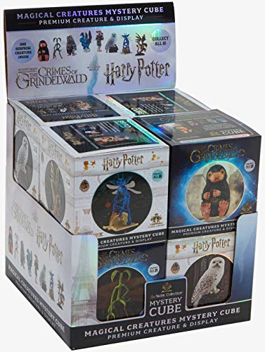 Noble - Caja sellada Que Contiene Conjunto Completo 8 Figuras 9 cm Harry Potter y Animales fantásticos Criaturas mágicas Original Mistery Cube Misterio Warner Bros