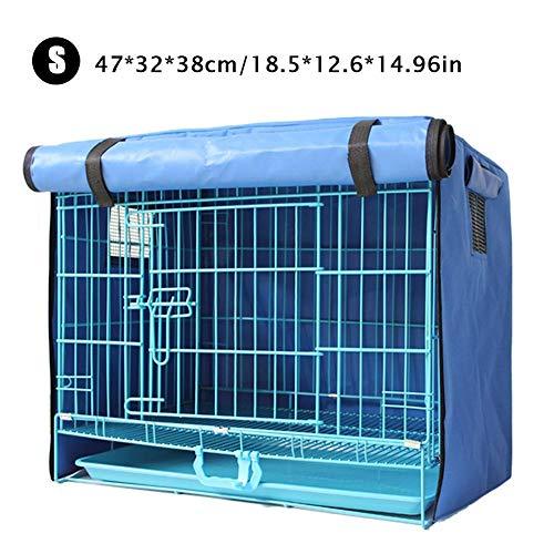 MondayUp Gato Rabbit Dog Crate Cover Impermeable a prueba de sol PonchoTeddy Dog Crate Cover Cubierta de aislamiento Mosquito incredible