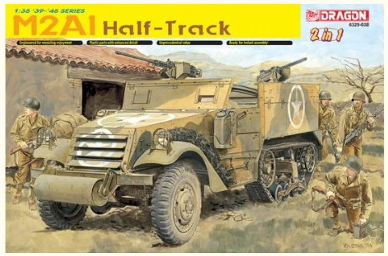 DRAGON 6329 M2 Halftrack (2 In 1)  Smart Model Kit 1 35